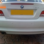 BMW 1 Series Rear Parking Sensors