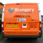 Ford Transit Van Rear Parking Sensors