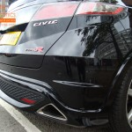 Honda Civic Type R Rear Parking Sensors