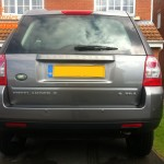 Land Rover Freelander 2 Rear Parking Sensors