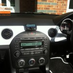 Mazda MX-5 Fitted With Parrot CK3100