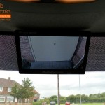 Mercedes Sprinter Fitted With Rear Camera (This Is The Camera View)
