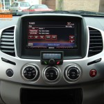 Mitsubishi L200 Fitted With Parrot CK3100
