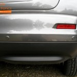 Nissan Juke Rear Parking Sensors (Close Up View)