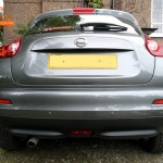 Nissan Juke Rear Parking Sensors