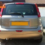 Nissan Note Rear Parking Sensors