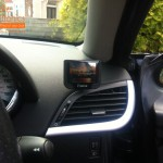 Peugeot 207 Fitted With Parrot MKi9200