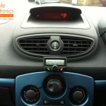 Renault Clio Fitted With Parrot CK3100