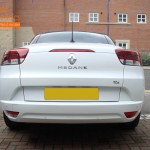 Renault Megane Convertible Rear Parking Sensors