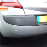 Renault Megane Rear Parking Sensors (Close Up View)