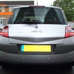 Renault Megane Rear Parking Sensors