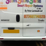 Renault Trafic Rear Parking Sensors