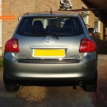 Toyota Auris Rear Parking Sensors