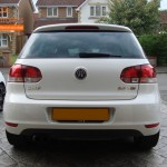 VW Golf Rear Parking Sensors