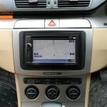 VW Passat Fitted With Pioneer AVIC-F940BT Sat Nav