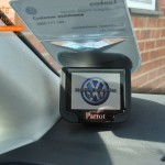 VW Touran Fitted With Parrot MKi9200 (Close Up View)