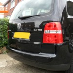VW Touran Rear Parking Sensors