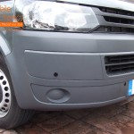 VW Transporter Front Parking Sensors With Distance Display