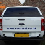 Ford Ranger (New Shape) Rear Number Plate Parking Sensors