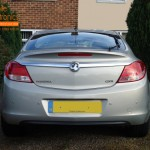 Vauxhall Insignia Rear Parking Sensors
