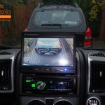 Fiat Ducato Tribute Motorhome Reversing Camera View