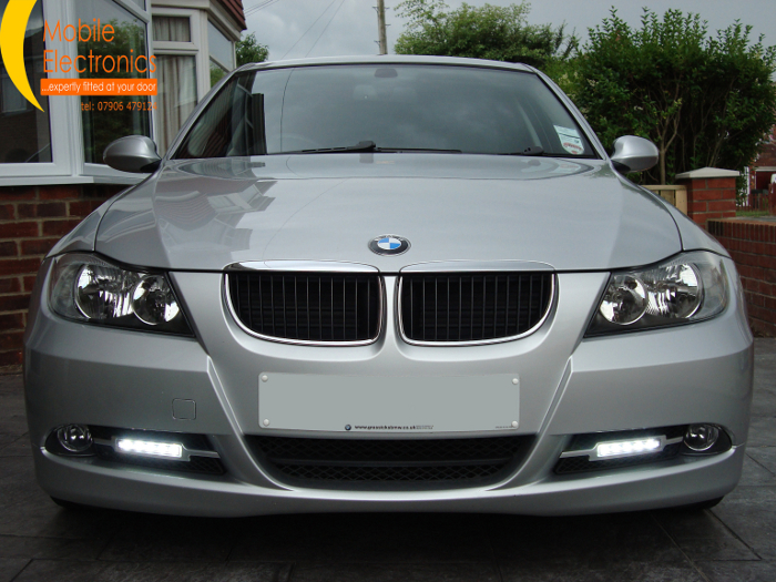 bmw 318d e90 daytime lights mobile electronics. Black Bedroom Furniture Sets. Home Design Ideas